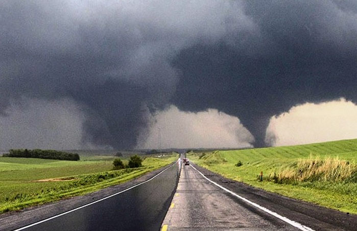 Double Tornadoes