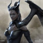 Early Maleficent Angelina Jolie designs