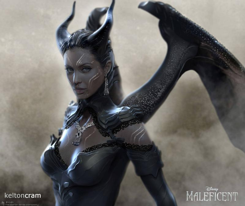 Early Maleficent designs (3)