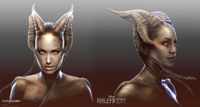 Early Maleficent designs (2)
