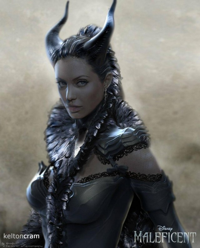 Early Maleficent designs (1)