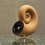 First 3D Printed Speaker from Wood