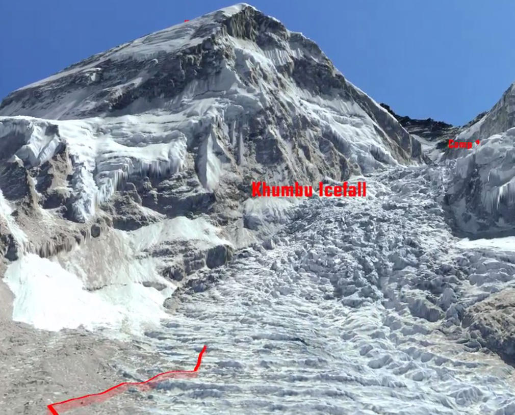 Sherpas Path on Everest