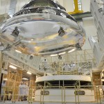 Largest heat shield ever constructed