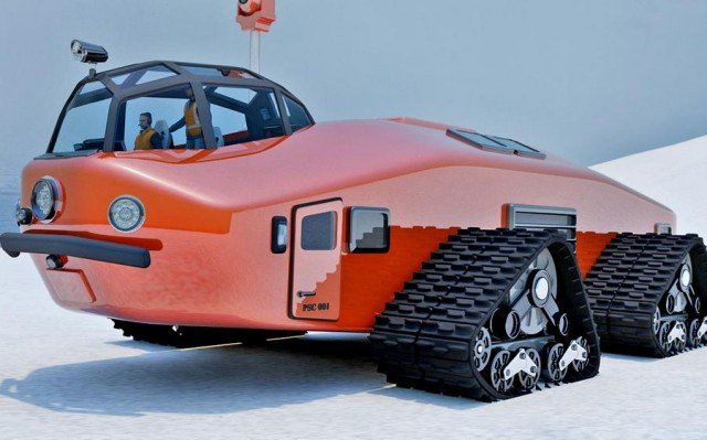 Polar Snow Crawler