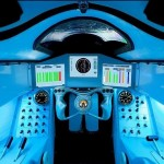 The cockpit of supersonic Bloodhound Interactive