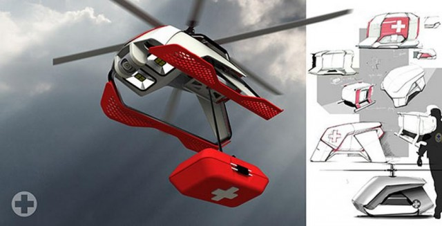Unmanned Aerial Rescue drone (2)
