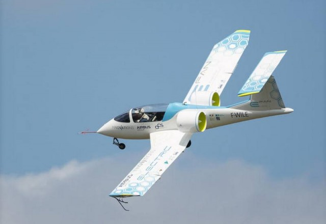 Airbus E-Fan electric plane