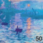 Claude Monet Nanotech World's Smallest Masterpiece
