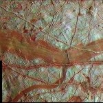 Europa's Rivers of Red Ice