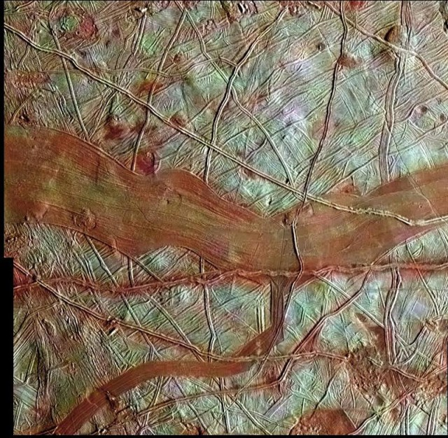 Jupiter's satellite Europa