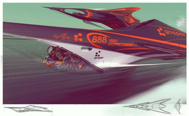 Futuristic Flying racers (5)