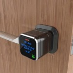 Genie smart lock door handle