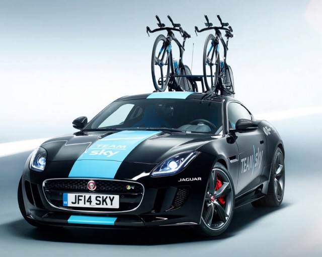 Jaguar F-Type - Sky Team