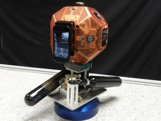 Robot for 3-D Mapping inside Space Station