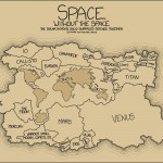 Solar System's Solid Surfaces in one map