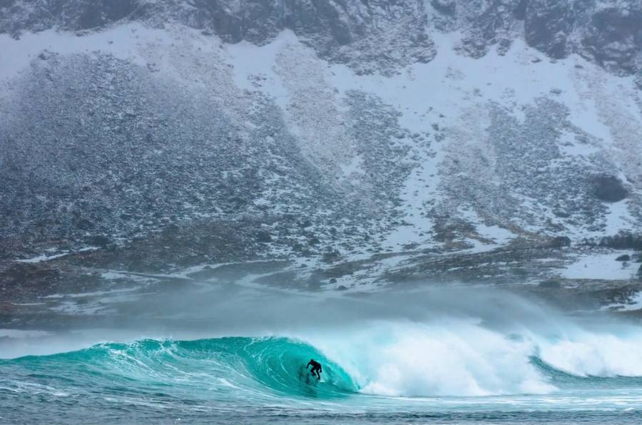 Surfing at the Ends of the Earth