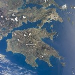 The Peloponnese from ISS