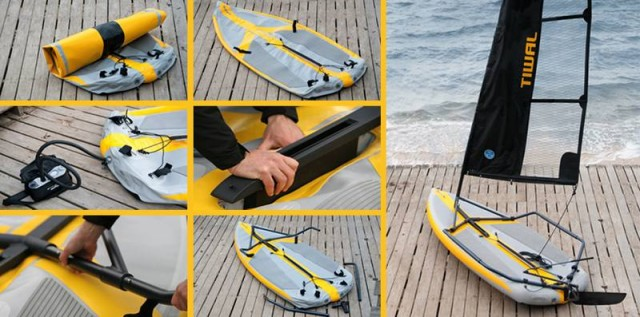 Inflatable sailing dinghy (3)