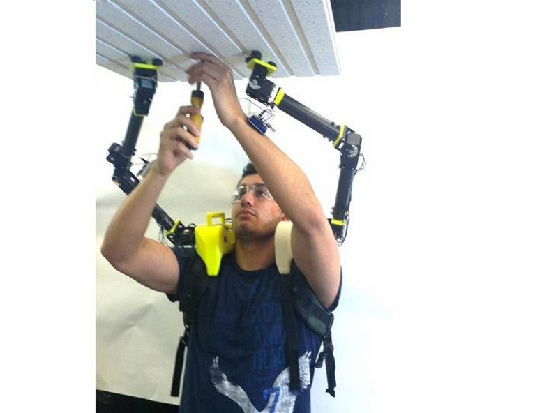 Robotic arms for humans (5)
