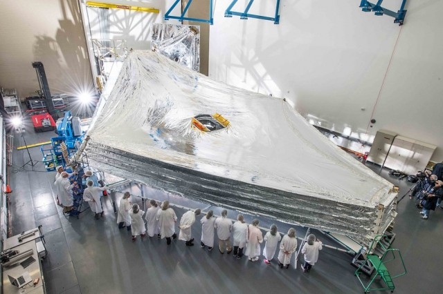 Webb Space Telescope Sunshield