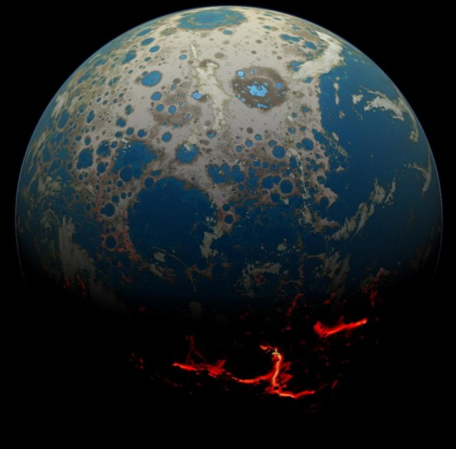 Earth 4 billion years ago 2