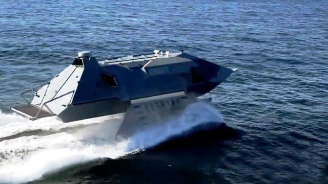 Ghost attack boat