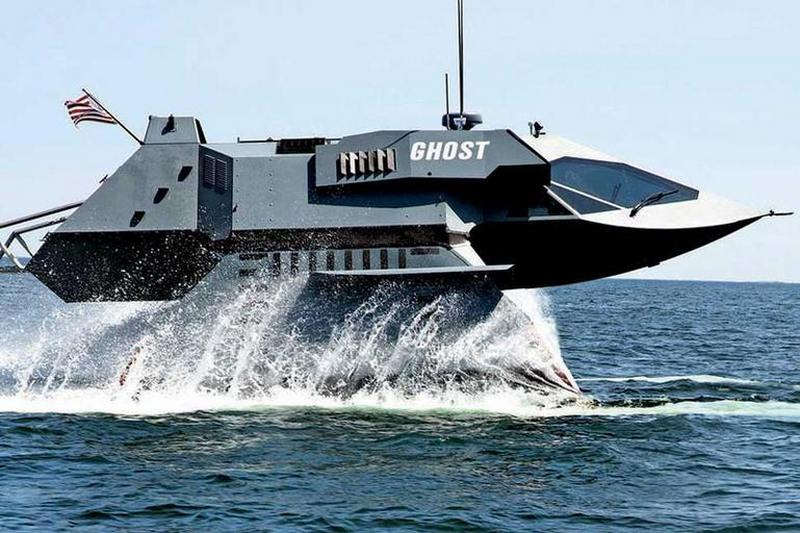 Ghost fast stealthy attack boat | wordlessTech
