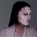 Human face living makeup projection mapping
