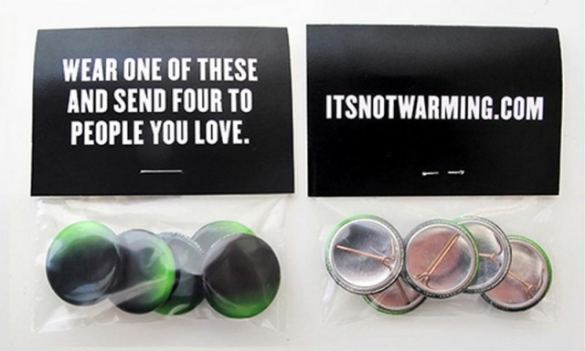 It's Not Warming, It's Dying campaign (1)