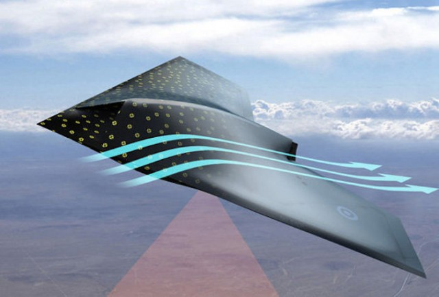 Smart Skin for airplanes
