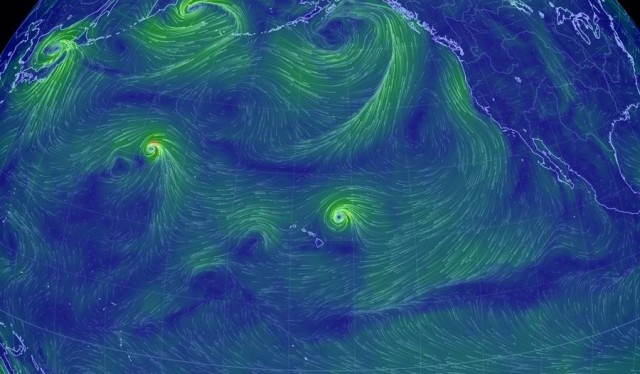 The Storms hitting Hawaii explained in a map (1)