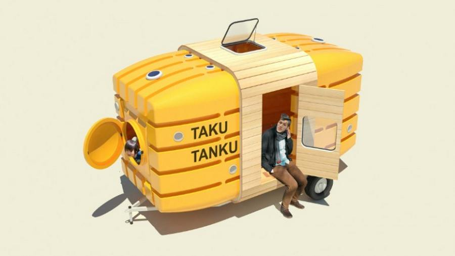 Taku-Tanku traveling house (5)