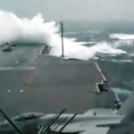 Top 6 ships in storm stunning video
