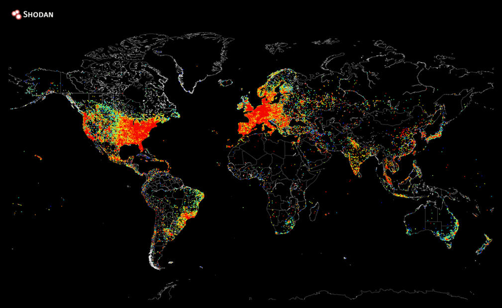 Map of Every Internet Device