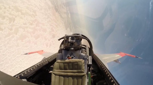 Remote-controlled F-16