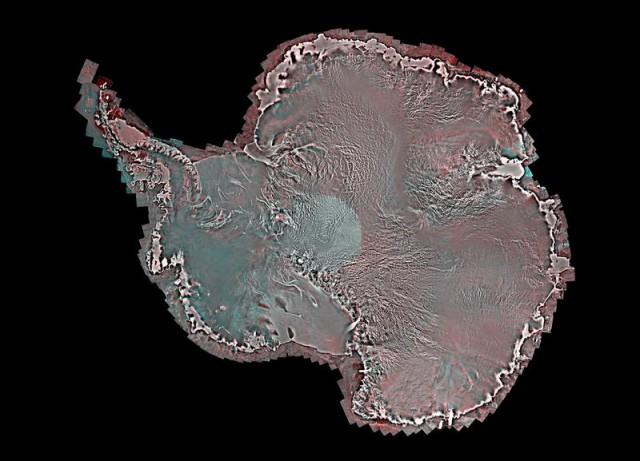 Antarctica by RADARSAT-2 satellite