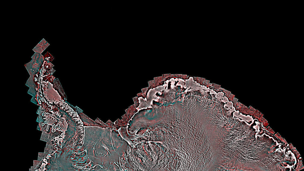 Antarctica by RADARSAT-2 satellite (4)