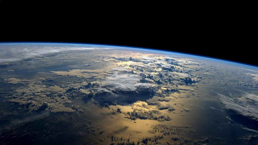 Our Blue Planet from space