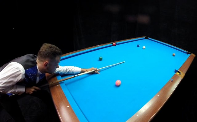Billiards Trick Shot