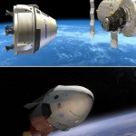 Boeing and SpaceX will ferry astronauts to Space Statio...