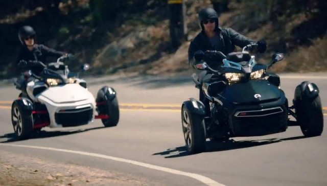 Can Am Spyder trike