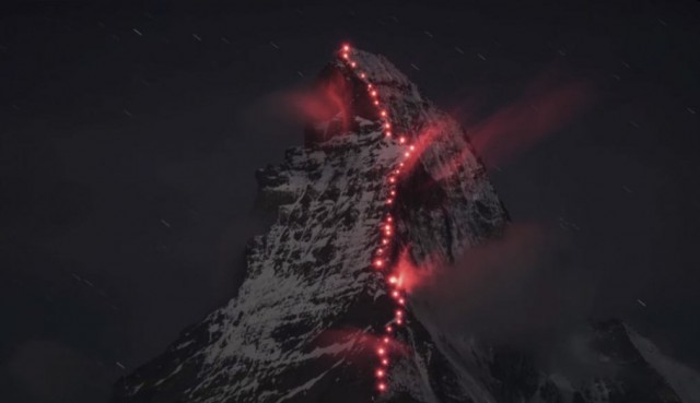 ascent of the Matterhorn