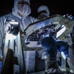 Conducting new Low Light test for Webb Telescope