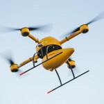 DHL parcelcopter's drone first delivery