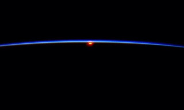 Good morning from ISS