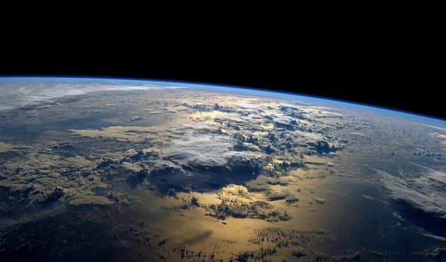 Morning from space