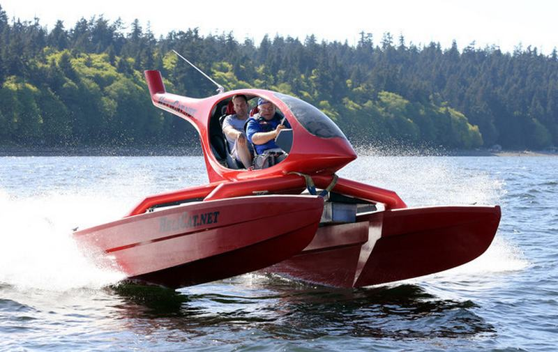 Wordlesstech Helicat 22 A Boat That Looks Like A