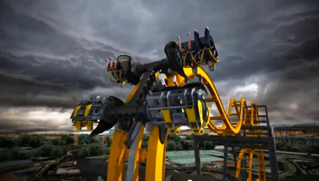 4D Batman Roller Coaster
