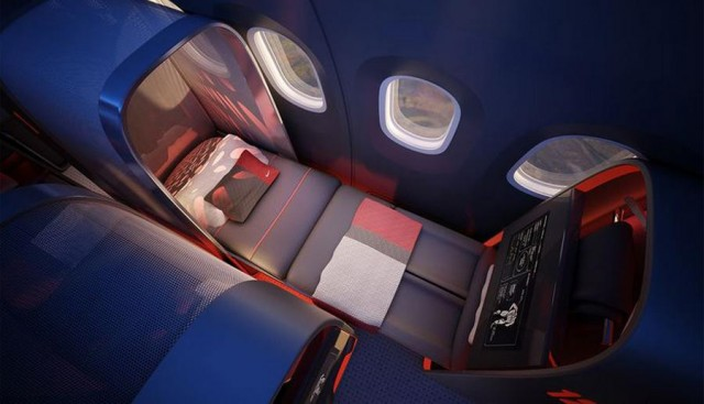 Nike's sports aircraft cabin (5)